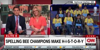 Alisyn Camerota And John Berman Interview 8 Spelling Bee Co-Champs