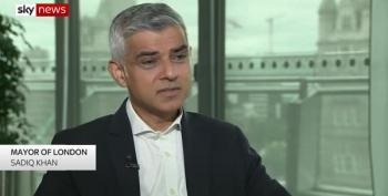 Sadiq Khan: 'We Shouldn't Be Rolling Out The Red Carpet'