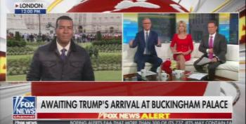 Fox And Friends Imagines Pro-Trump Rallies In England