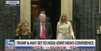 Fox And Friends Lies About British Boos For Ivanka Trump And John Bolton