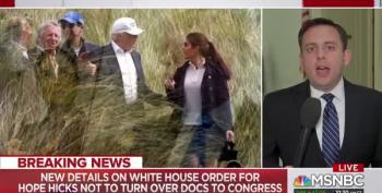 White House Orders Hope Hicks To Defy Congressional Subpoena