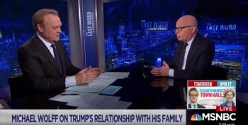 Michael Wolff Says Trump Is Jealous Of Barron For Being Too Tall