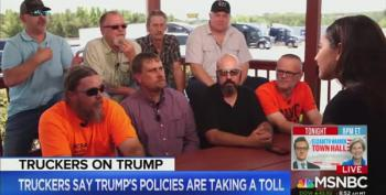 Truckers Notice The Trump Tax Scam Is A Scam