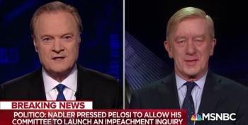 Bill Weld On Timeline Of Impeachment Inquiry