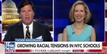 Tucker Carlson Equates Diversity Program In NYC Schools To Jim Crow