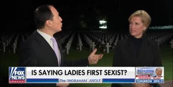 Fox News Primetime Does 'Fun' Segments At Normandy Cemetery