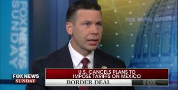 Trump's Acting DHS Secretary Makes Up Answers About Border Deal On Fox News