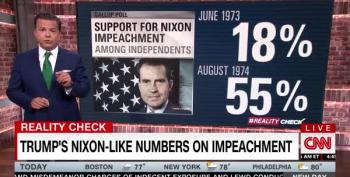 Trump Impeachment Numbers Worse Than Nixon's