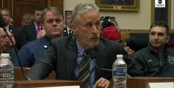 Jon Stewart Lays Into Congress For Absence At 9/11 Victims' Fund Hearing