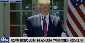 Trump Tells Reporters Not To Pay Attention To What He Says