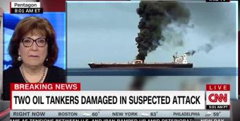 BREAKING: Two Oil Tankers Attacked In Gulf Of Oman