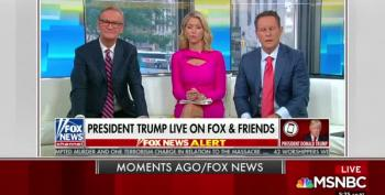 Trump Calls Into Fox & Friends To Backtrack On Foreign Election Help