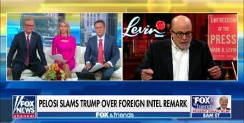 Fox's Levin Accuses Pelosi Of Being 'Fascistic' For Calling Trump A Criminal