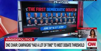 Democratic Debate Schedule Announced