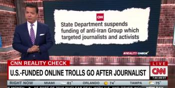 State Department Paid Trolls To Attack Anti-Iran War Voices