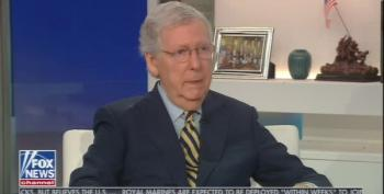 Mitch McConnell Lies About Merrick Garland