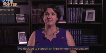 Katie Porter Comes Out In Favor Of Impeachment