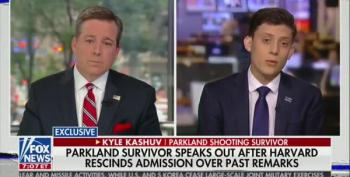 Even Ed Henry Claps Back At Harvard Reject's Excuses For Racism