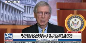 Mitch McConnell Word Salad: Puerto Rico Statehood Is Socialism