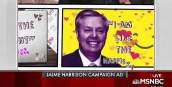 Watch Jaime Harrison Take On Lindsey Graham With His Own Words
