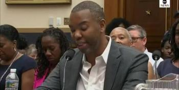 Ta-Nehisi Coates Directs Hearing Remarks To Mitch McConnell