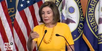 Nancy Pelosi Tells Reporter Not To Waste Her Time With Mick Mulvaney