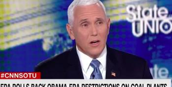 Jake Tapper Laughs At Mike Pence's 'Cleanest Water' Claim