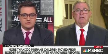 GOP Congressman: Kids Can Leave Trump Camps 'Any Time They Want'