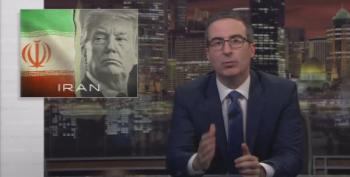 John Oliver On Trump, Fox News, And Iran