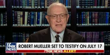 Alan Dershowitz Helps Fox Discredit Upcoming Mueller Testimony