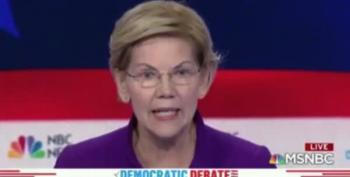Elizabeth Warren Nails The Healthcare Answer