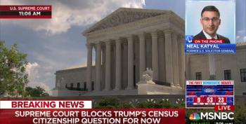 Scotus Is A Win 'For Now' On Census Citizenship Question