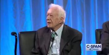 BOOM:  Jimmy Carter Says Trump's Election Was Illegitimate
