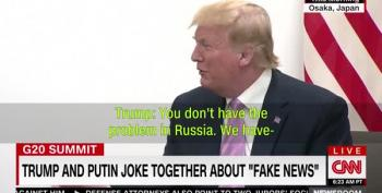 Putin And His Protegé Giggle Over Fake News And The Press