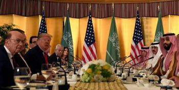 Trump Sucks Up To Saudi Crown Prince At G20