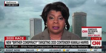 April Ryan Whacks Don Jr. For Spreading Birther Attack Against Kamala Harris