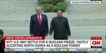 NYT Says Trump May Allow N. Korea To Keep Nuclear Weapons And Call It A Win