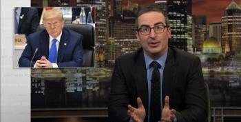 John Oliver: Trump Should Treat Women Like He Treats Kim Jong Un