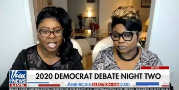 Fox Grifters Diamond & Silk Ridiculously Assert Kamala Harris Supports Segregation