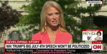 Kellyanne Conway Defends Another Blatant Violation Of The Hatch Act