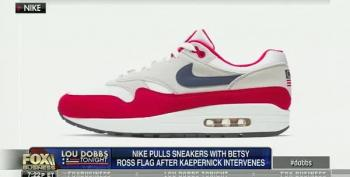 Ed Rollins And Lou Dobbs In A Lather Over Nike Pulling Betsy Ross Flag Shoes