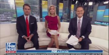 Fox And Friends Loves Them Some Trump Tanks
