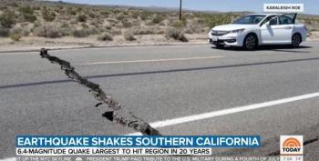 Southern Californians Brace As Aftershocks Continue To Shake Region