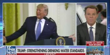 Shep Smith Cuts Off Trump's Environmental Speech To Expose His Horrific Deregulation Efforts