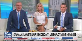 Fox And Friends Attacks Kamala Harris On Trump's Job Numbers