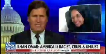 Tucker Carlson's White Power Hour Rant Aims At Ilhan Omar