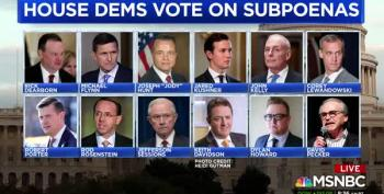 Cover-Up:  House Oversight Subpoenas 'The Dirty Dozen'