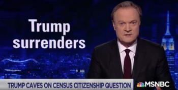 Right-Wing Think Tanks Whine Over Trump's Census 'Cave'