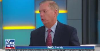 Lindsey Graham Goes Insane For Trump On Fox And Friends