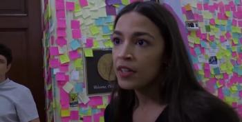 AOC Reacts To Trump's Racist Attack